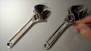 Realism Challenge #2 How to Draw Wrench, Art Drawing