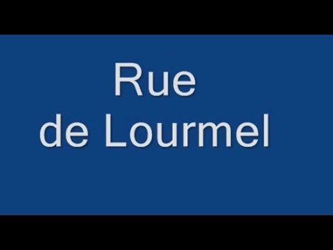 Rue de Lourmel Paris Arrondissement - 5e.