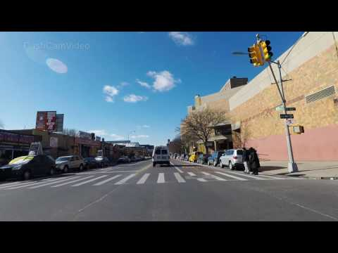 Webster Avenue & Melrose Avenue Bronx New York City (NYC) USA 4k