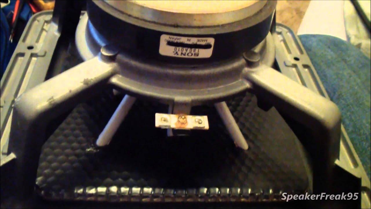 Sony APM Speaker - Woofer Repair | FunnyCat TV