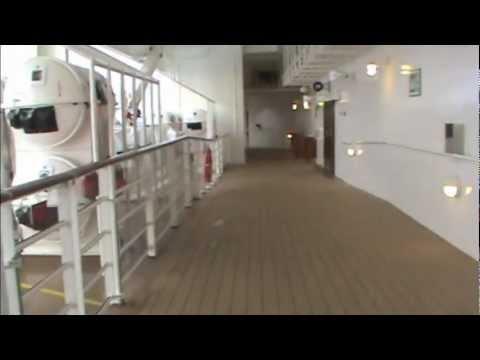 Disney Dream Cruise Ship Deck Jogging Track YouTube - Track disney cruise ship