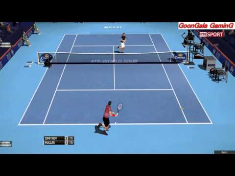 Grigor Dimitrov vs Gilles Muller | 1st Round Swiss Indoor Basel 2016 TE 2013 Simulation