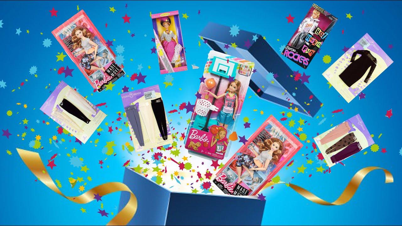 Распаковка посылки из группы «Барби Девяностых и не только. Barbie»