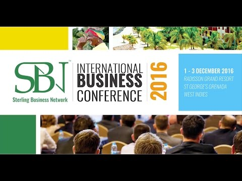 SBN International Business Conference Grenada 2016