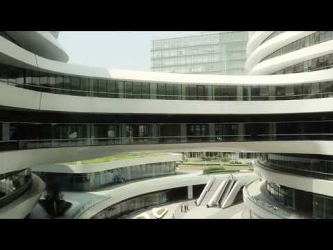 Galaxy Soho - Zaha Hadid Architects - Venice Biennale Fundamentals 2014
