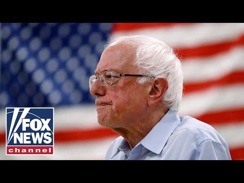 Bernie Sanders speaks after declaring victory in Nevada