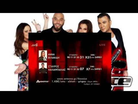 THE VOICE GREECE SEASON 2 - LIVE 5 - 2015/06/14 - PART 2