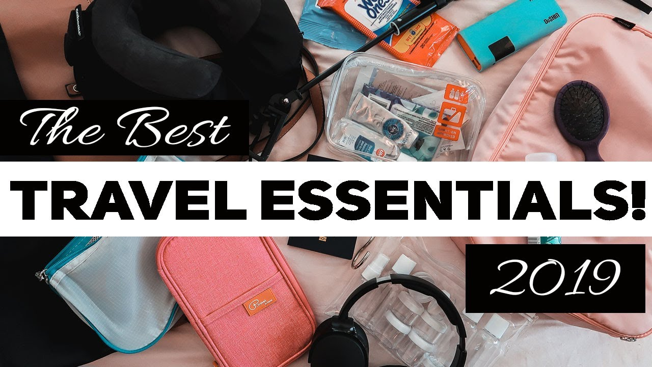 BEST TRAVEL ACCESSORIES | Don't Travel Without these Gadgets