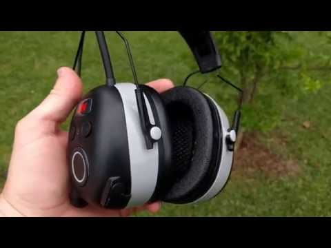 bae76679c31 Review: 3M WorkTunes Wireless Hearing Protector with Bluetooth (90542-3DC)  - YouTube
