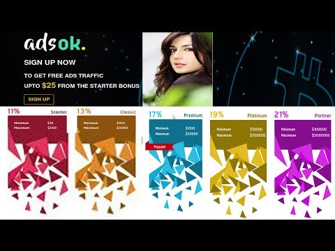 Adsok Get Free 25$ Signup Bouns Monthly & Daily Earning Programs Review In Hindi Urdu