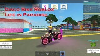Party with the Disco Bike Roblox Life in Paradise