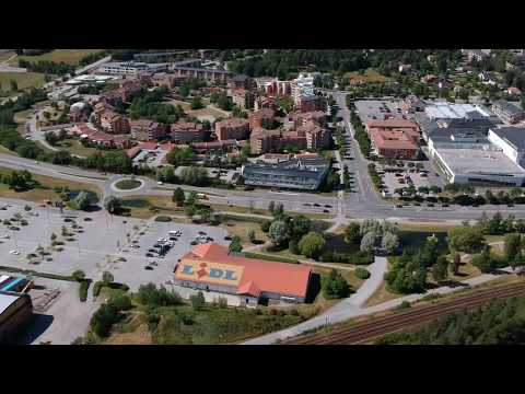 Flying a DJI Spark over Märsta