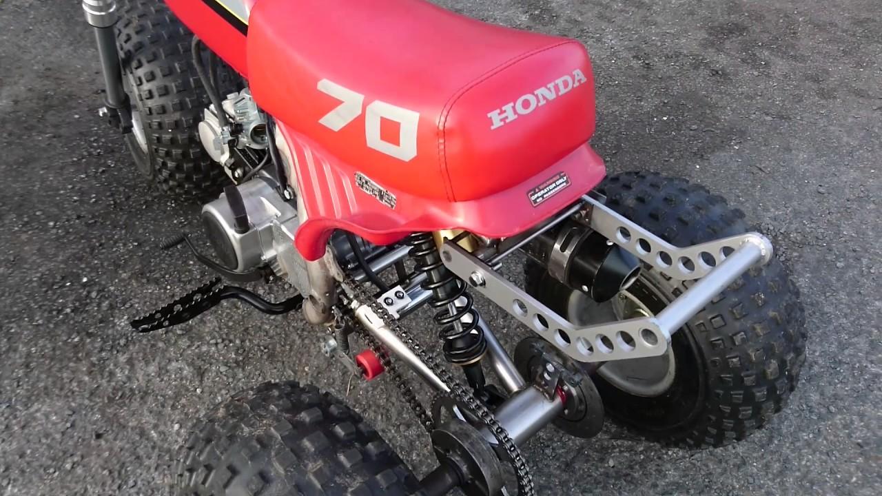 Honda Atc 70 Full Suspension Build