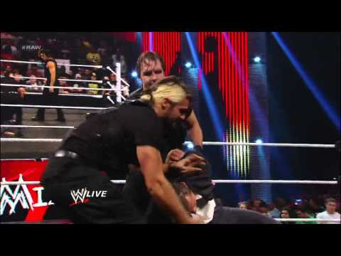 "CM Punk's lie detector test on ""Miz TV"" ends in chaos: Raw, Dec. 3, 2012"