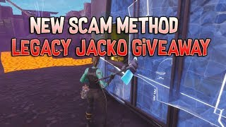 Nouvelle méthode d'escroquerie sur Fortnite Save The World - Insane Legacy Giveaway!!!