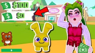 😱THE NEW 100 ROBUX ADOPT ME GAME NOW IS FREE🐰- ROBLOX My Droplets