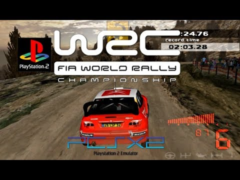 wrc 1 2001 pcsx2 world rally championship ps2 on pc. Black Bedroom Furniture Sets. Home Design Ideas