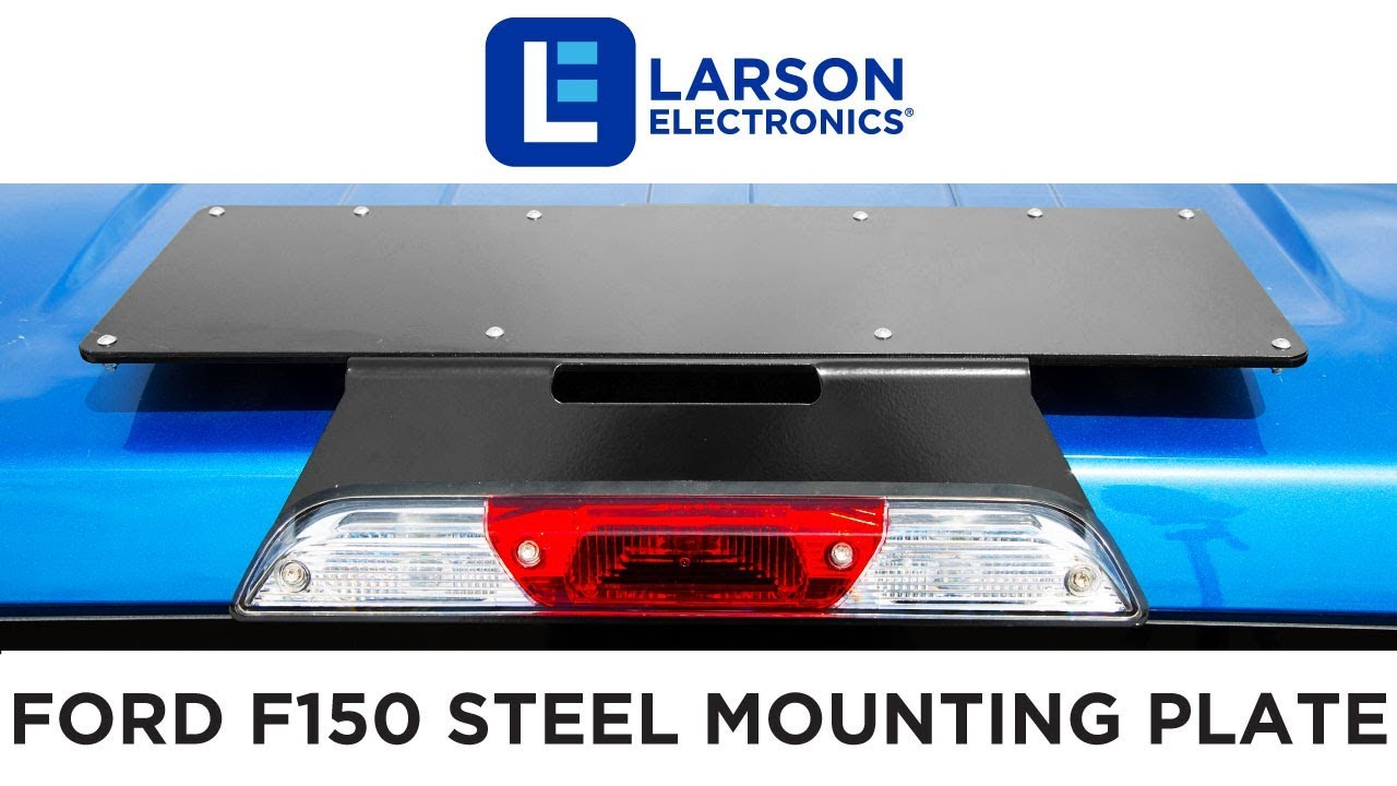 Larson Electronics - Vehicle Mounting Plates