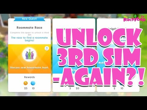 The Sims Mobile Roommate Race Quest -AGAIN?!