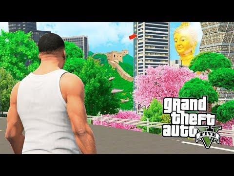 ПОЕЗДКА В КИТАЙ В ГТА 5 МОДЫ!! АЗИАТСКАЯ GTA 6?! ОБЗОР МОДА В GTA 5 ИГРЫ ГТА ВИДЕО MODS