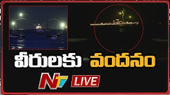 Indian Navy Special Tribute To Corona Warriors LIVE | NTV LIVE