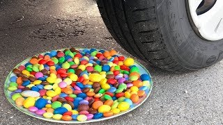 Experiment Car vs Baby Cat   Crushing Crunchy & Soft Things by Car!