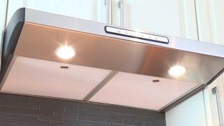 видео высота вытяжки над электрической плитой по стандарту