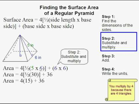 Rectangular Pyramid Surface Area Formula | www.pixshark ...