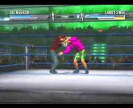 Joe Negron vs Larry Sweeney