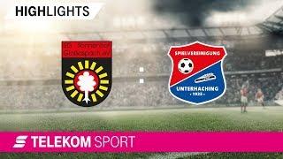 SG Sonnenhof Großaspach – SpVgg Unterhaching| Spieltag 10, 18/19 | Telekom Sport