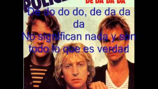 De do do do, de da da da The Police español