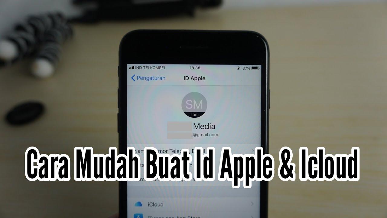 Cara Membuat Akun Apple ID & iCloud Gratis - Tanpa Kartu Kredit