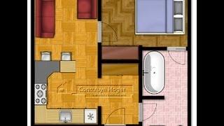 Como diseñar un departamento, hacer los  planos y diseño