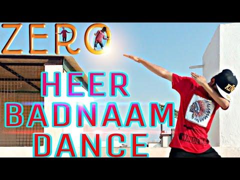 ZERO: Heer Badnaam Dance | Shah Rukh Khan, Katrina Kaif, Anushka Sharma | Tanishk Bagchi | T-SERIES