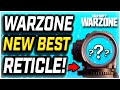 USE THIS RETICLE FOR MORE ACCURACY! New Best Warzone Reticle [Warzone Academy]