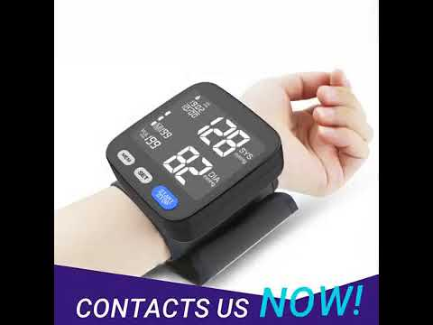 Alphamed Wrist Blood Pressure Monitor Machine