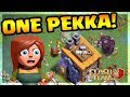 ONE SUPER PEKKA Vs BUILDER HALL Clash Of Clans CoC mp3