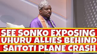 See Mike Sonko Revealing How Statehouse Operatives Crashed Saitoti and Ojode Chopper