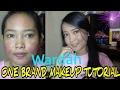 ONE BRAND MAKEUP TUTORIAL WARDAH | for acne skin (Makeup 100% Lokal) VinaMaysha