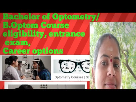 #Bsc Optometry Course # Bsc Optometry Course Eligibility, Age, Colleges, Career Options //in Telugu