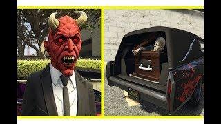 قراند 5 : شريت سيارة الهالوين المرعبة و راس الشيطان المخيفة !!? ? |#32