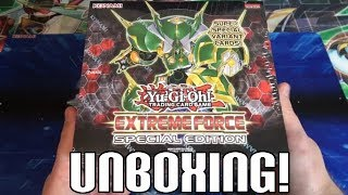 Yugioh Extreme Force Special Edition Box Opening - 10 Special Editions in 1 Box!