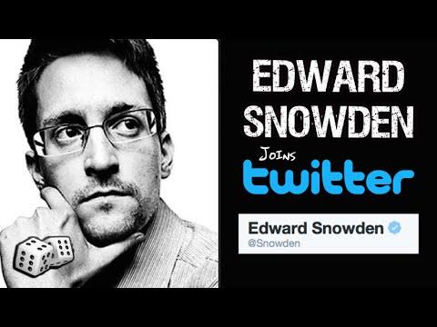 Edward Snowden Joins Twitter - @Snowden - His Verified Account