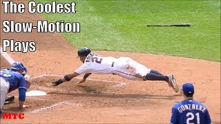 MLB Beautiful Slow Motion Plays
