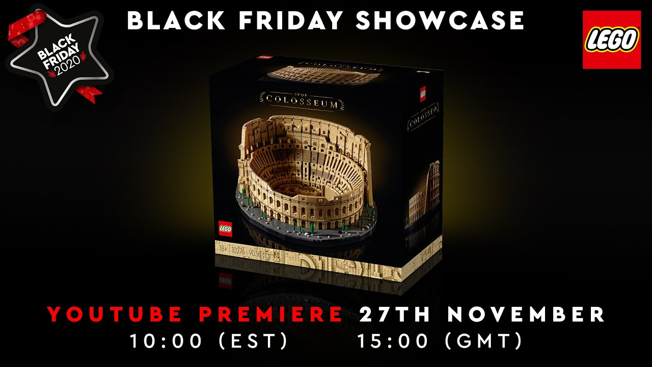 Black Friday LEGO Showcase 2020 |LEGO Colosseum, Exclusive 2021LEGOSet Reveal + muchmore!