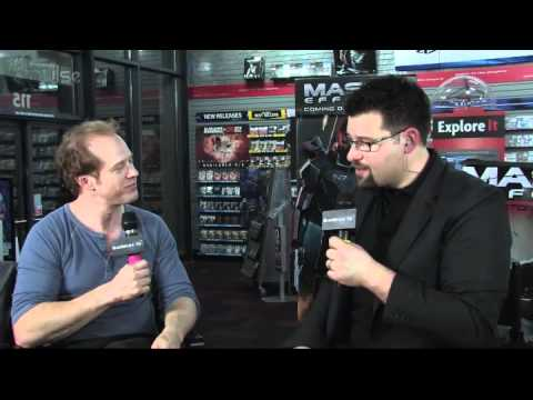 Mass Effect 3 Launch: Raphael Sbarge Interview - YouTube