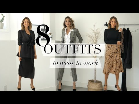 Stylish Work Outfits 2020 | what to wear to the office