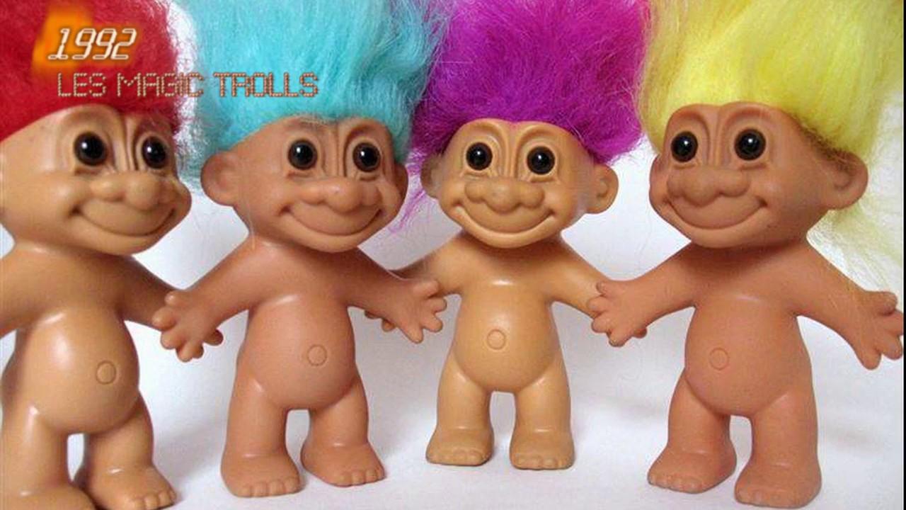 Génération 90 Le Meilleur Des Années 90 Pogs Trolls Babies Tatoo