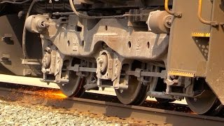 INSANE CSX Locomotive Wheel Slip
