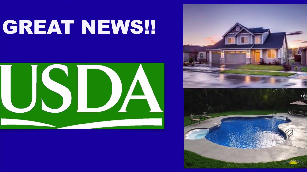 Do Usda Loans Allow Swimming Pools Usda Loan Pro
